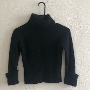 Vintage Guess Cropped Turtleneck sweater